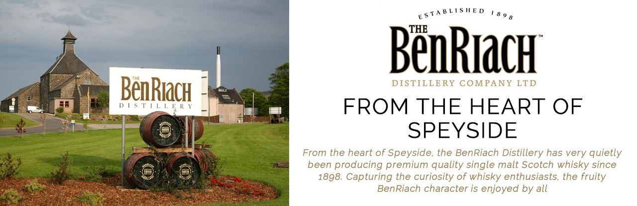 The Benriach Scotch Whisky