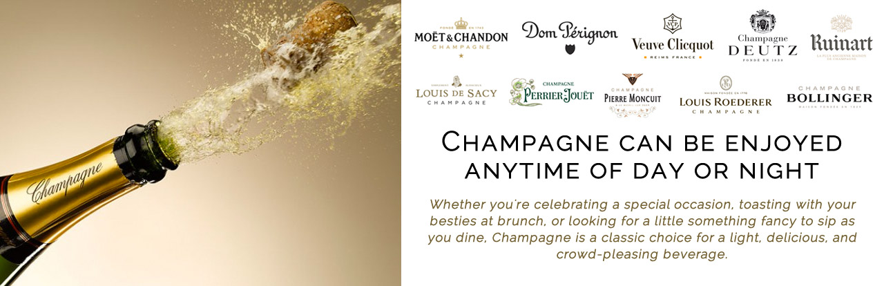 EXPLORE OUR CHAMPAGNE