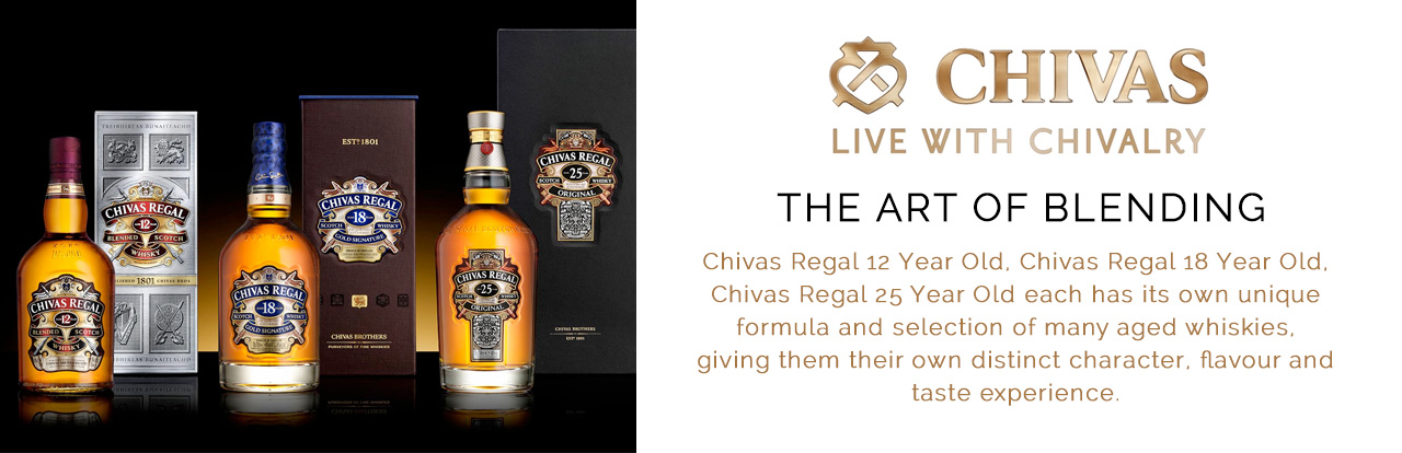 Chivas Regal Scotch Whisky