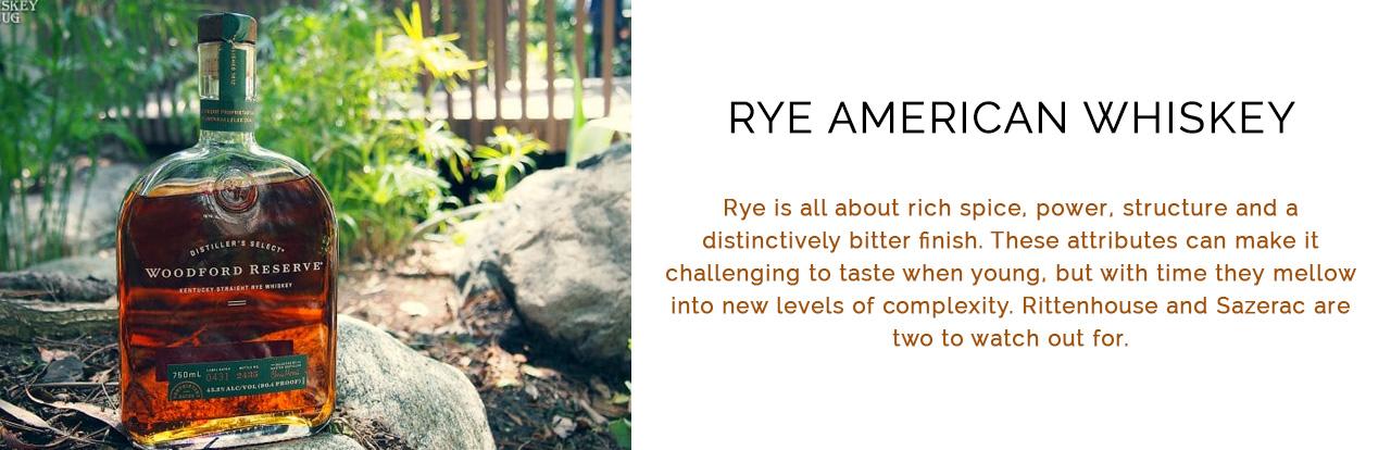 Rye American Whiskey
