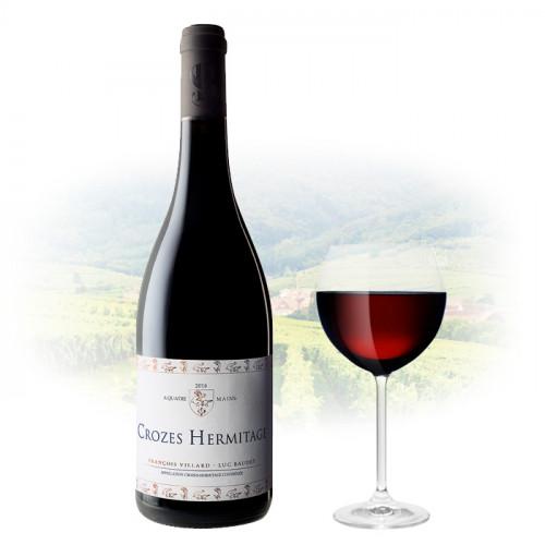 "Luc Baudet & Francois Villard - Crozes-Hermitage ""A Quatre Mains""   French Red Wine"