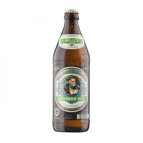 Augustiner Lager Light - 500ml (Bottle) | German Beer