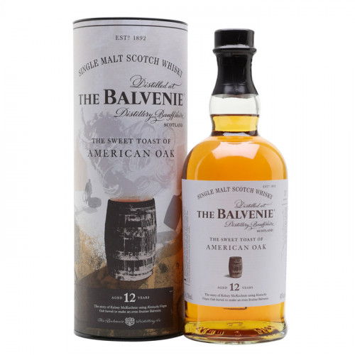 The Balvenie - 12 Year Old Sweet Toast of American Oak | Single Malt Scotch Whisky