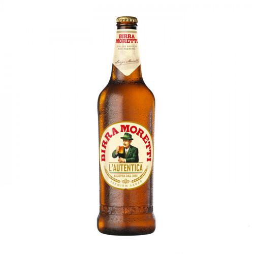 Birra Moretti - 660ml (Bottle)   Italian Beer