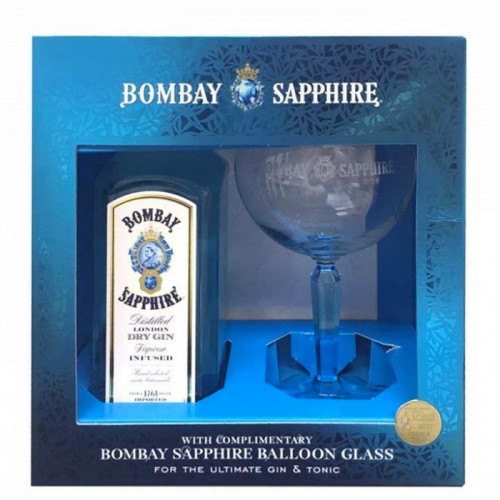Bombay Sapphire Balloon Glass Gift Set | London Dry Gin