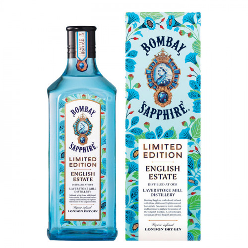 Bombay Sapphire - English Estate Limited Edition - 1L | London Dry Gin