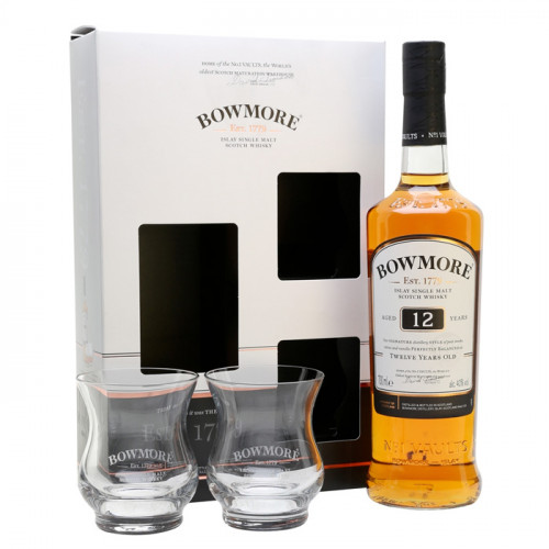 Bowmore 12 Year Old - Gift Pack | Single Malt Scotch Whisky