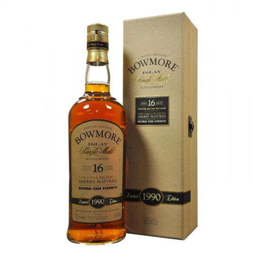 Bowmore 16 Year Old Sherry Cask Limited Edition | Single Malt Scotch Whisky