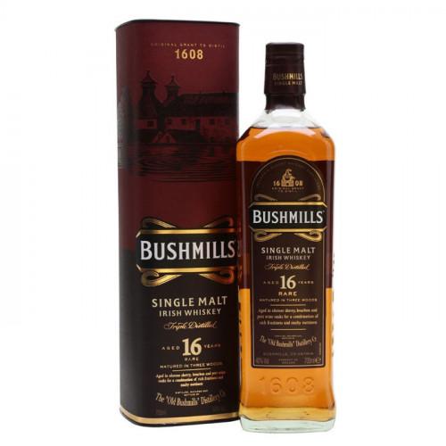 Bushmills - 16 Year Old - Three Wood   Single Malt Irish Whiskey