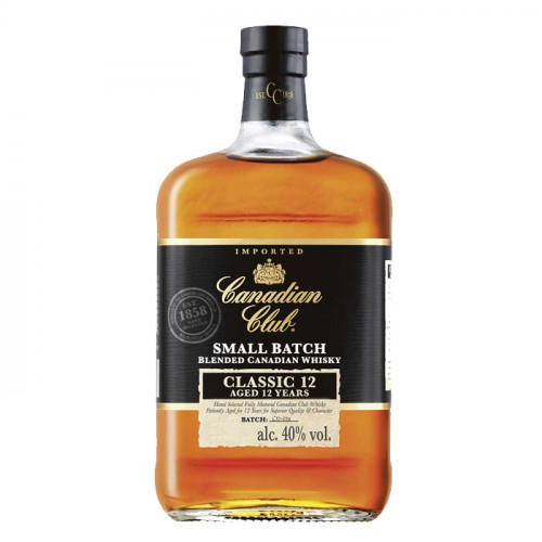 Canadian Club Classic 12 Small Batch 1L   Philippines Manila Whisky