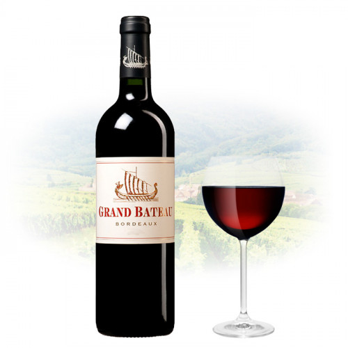 Château Grand Bateau Rouge - Bordeaux AOC | French Red Wine