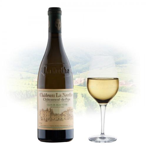 Chateau La Nerthe - Châteauneuf-du-Pape - Clos de Beauvenir Blanc | French White Wine