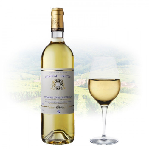 Chateau Lirette - Premiere Cotes de Bordeaux | French White Wine