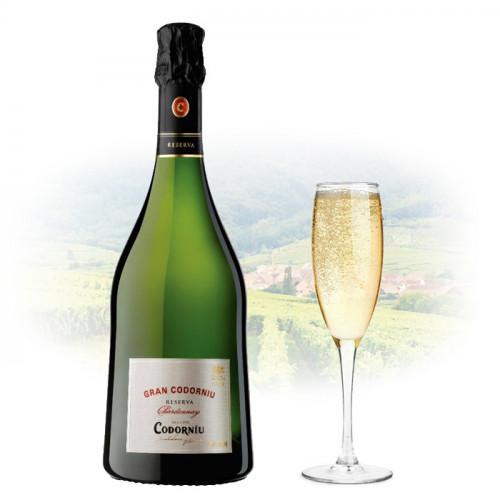 Codorníu - Gran Codorníu Reserva - Chardonnay | Spanish Sparkling Wine