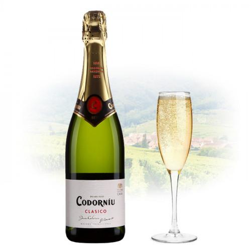 Codorníu - Clasico Seco   Spanish Sparkling Wine