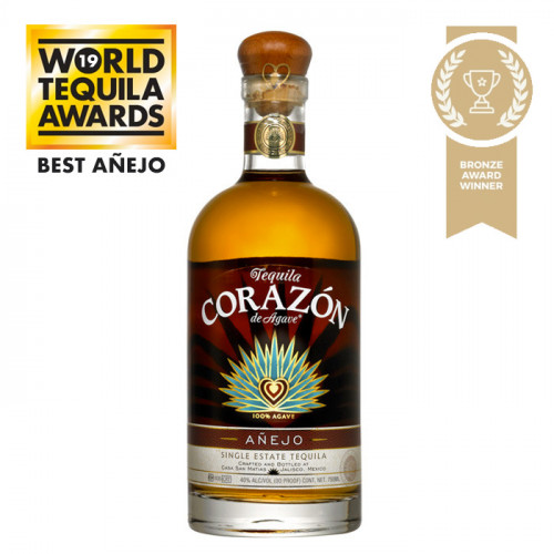 Corazon - Single Estate - Anejo | Mexican Tequila