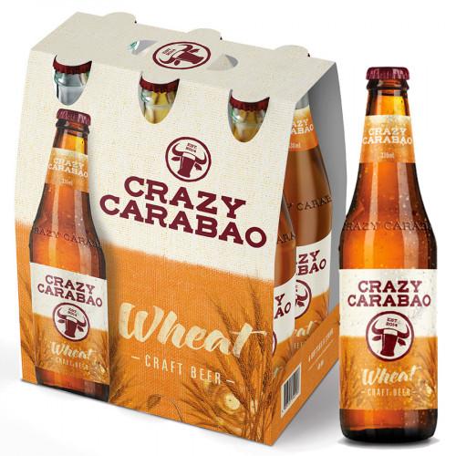 Crazy Carabao - Wheat - 330ml (Bottle) | Philippines Beer