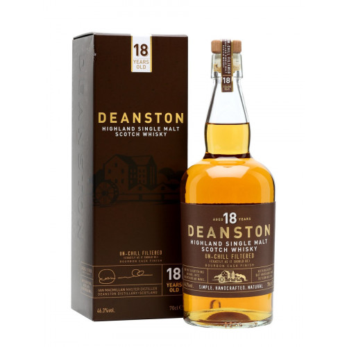 Deanston 18 Years Old Bourbon Cask Finish | Single Malt Scotch Whisky | Philippines Manila Whisky