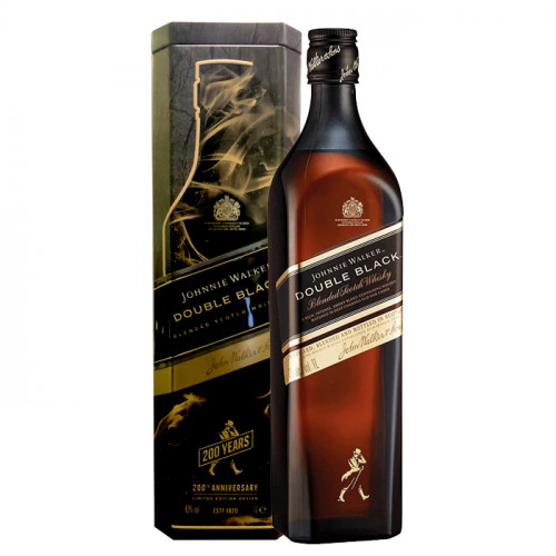 Johnnie Walker - Double Black - 1L - 200th Anniversary Limited Edition Design