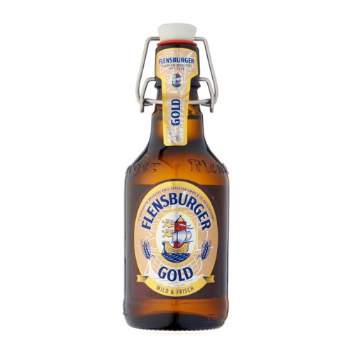 Flensburger Gold - 330ml (Bottle) | German Beer