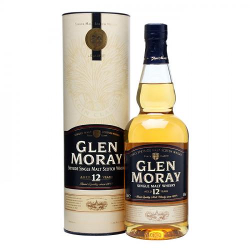 Glen Moray 12 Year Old   Single Malt Scotch Whisky