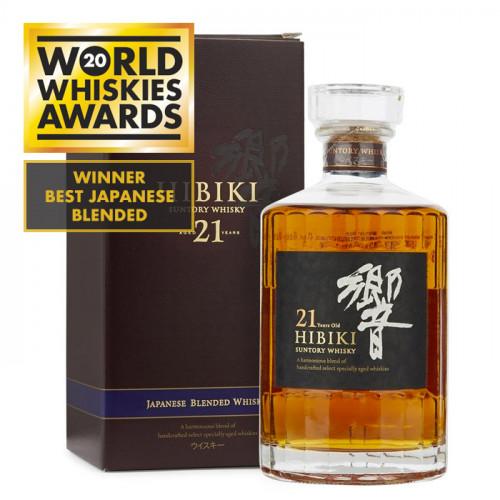 Suntory Hibiki - 21 Year Old | Japanese Whisky