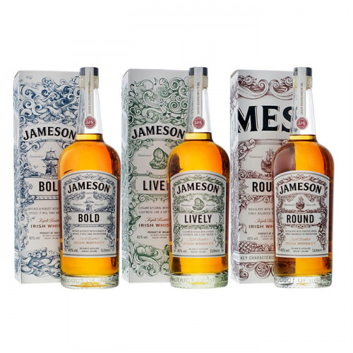 The Jameson Deconstructed Series (Set of 3) | Blended Irish Whiskey