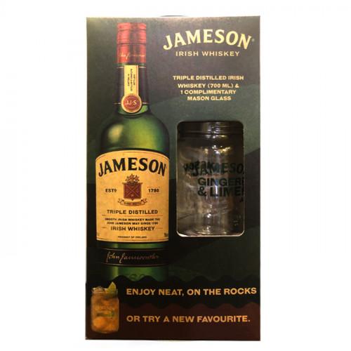 Jameson Triple Distilled - 700ml - Gift Pack   Blended Irish Whiskey