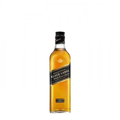 Johnnie Walker Black Label - 200ml Miniature   Blended Scotch Whisky