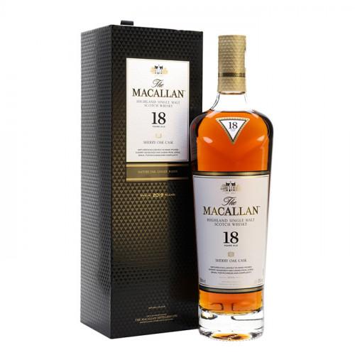 The Macallan 18 Year Old - Sherry Oak Cask | Single Malt Scotch Whisky