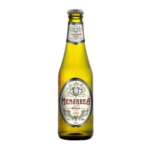Menabrea Bionda Premium Lager - 330ml (Bottle) | Italian Beer
