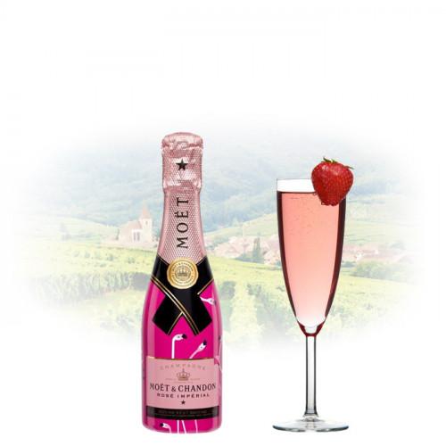 Moët & Chandon Rosé Impérial 20cl Miniature Flamingos Edition | Manila Wine Champagne