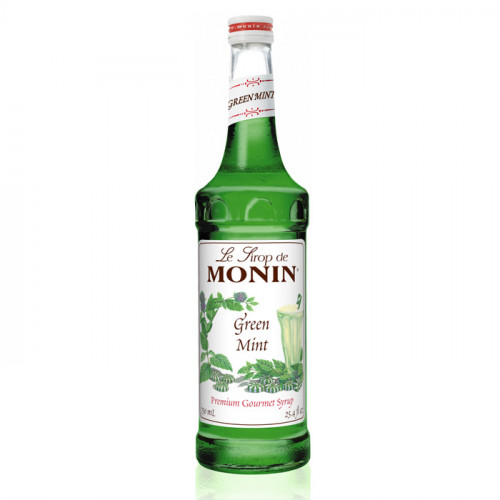 Le Sirop de Monin - Green Mint | Flowers Herbs Spices Syrup