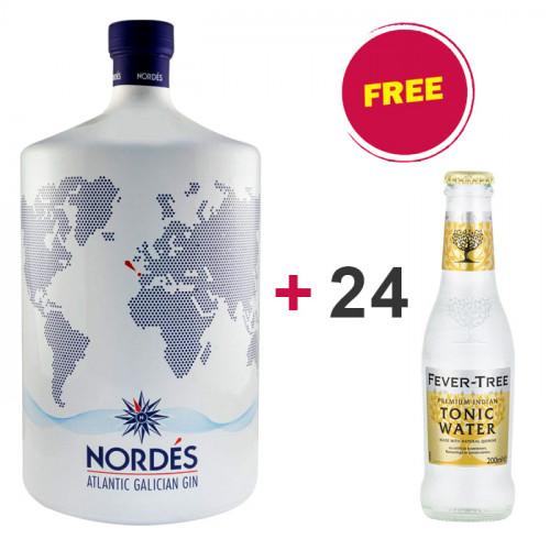 BUY 1 Nordés Gin 3L GET 24 FREE Fever Tree Indian Tonic