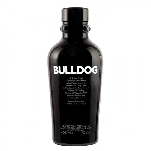 Bulldog London Dry Gin   Philippines Manila Gin