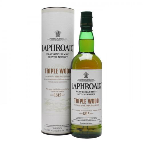 Laphroaig - Triple Wood   Single Malt Scotch Whisky