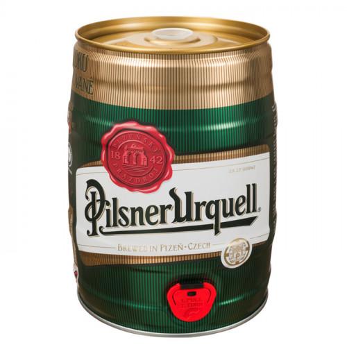 Pilsner Urquell Beer - 5L (Keg) | Czech Beer