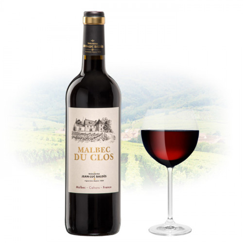 Jean-Luc Baldès - Le Malbec du Clos Triguedina   French Red Wine