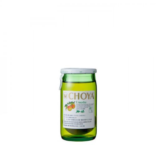Choya Wine Umeshu - 50ml   Japanese Ume Liqueur (with Fruits)