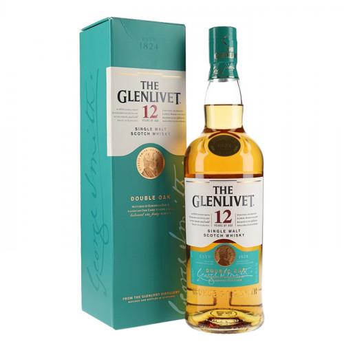The Glenlivet - 12 Year Old - Double Oak - 700ml | Single Malt Scotch Whisky