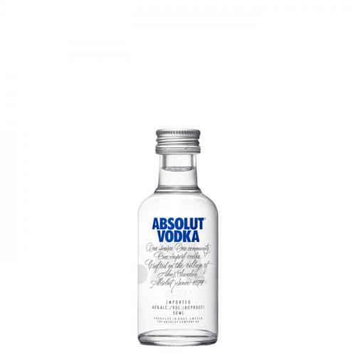 Absolut - Blue - 50ml Miniature | Swedish Vodka