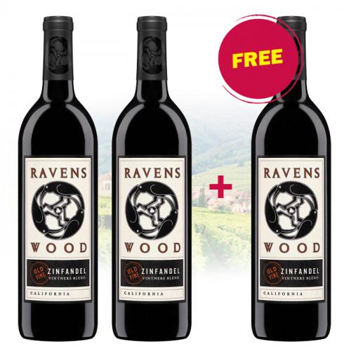 BUY 2 Ravenswood - Vintner's Blend Old Vine Zinfandel GET 1 FREE