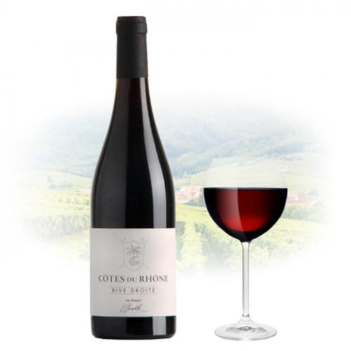 François Villard & Luc Baudet - Rive Droite Côtes du Rhône   French Red Wine