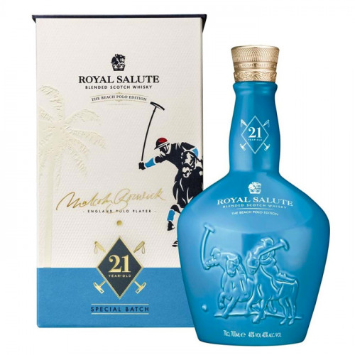 Royal Salute 21 Years Beach Polo Edition | Blended Malt Scotch Whisky