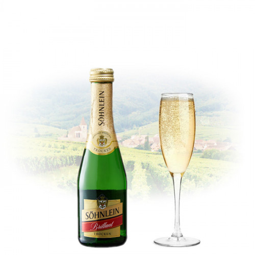 Sohnlein Brillant Trocken/Dry - 200ml Miniature   German Sparkling Wine
