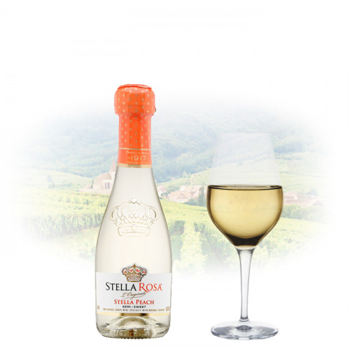 Stella Rosa Peach - Miniature (187ml) | Italian Wine