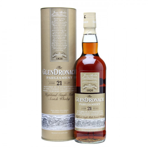 The GlenDronach Parliament 21 Year Old   Single Malt Scotch Whisky