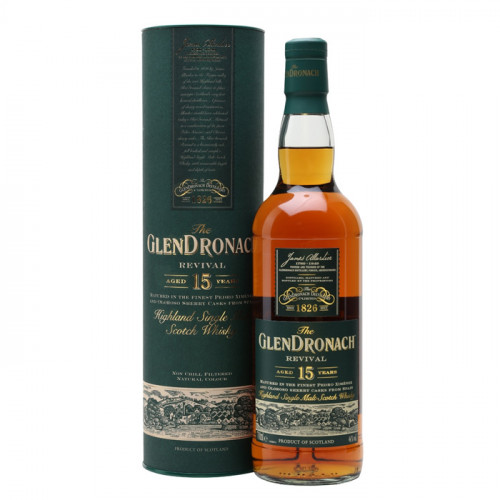 The GlenDronach Revival - 15 Year Old | Single Malt Scotch Whisky