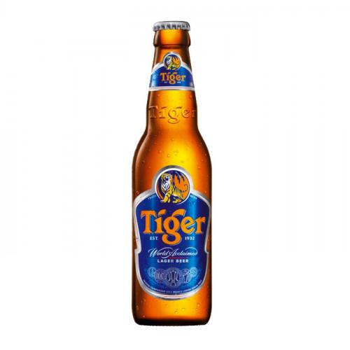 Tiger Beer - 330ml (Bottle) | Singaporean Beer