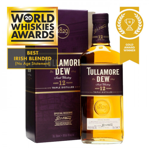 Tullamore Dew - 12 Year Old - Special Reserve | Blended Irish Whiskey
